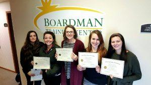Boardman Certifications