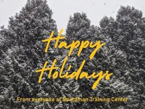 BTC Happy Holidays